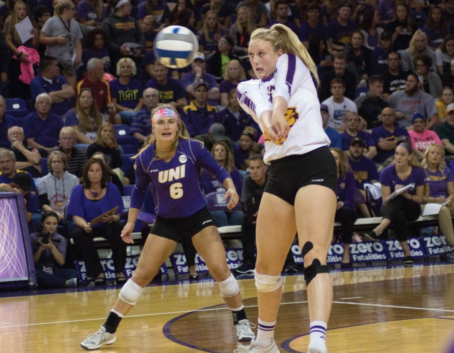 UNI drops three straight to Cyclones-Cougars