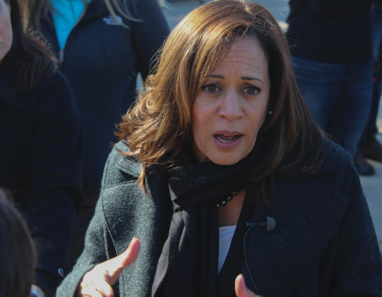 Senator Kamala Harris visited UNI on Tuesday to encourage students to vote early in the 2018 midterm elections.