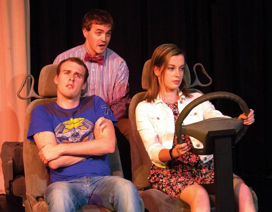 Graduate student Nathan Selove writes, directs and narrates the play