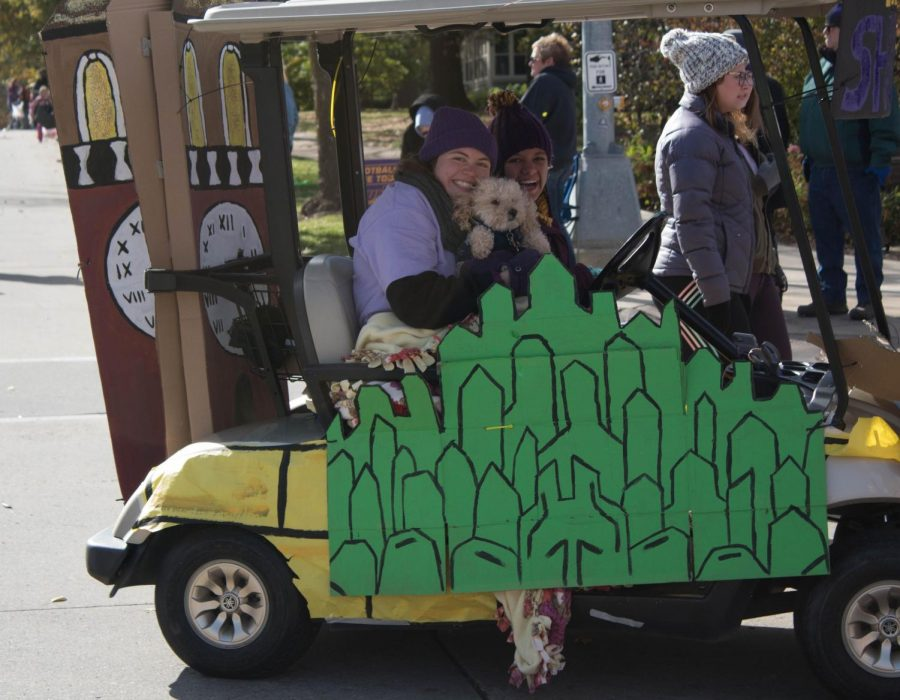 Panther Portrait: Homecoming Parade