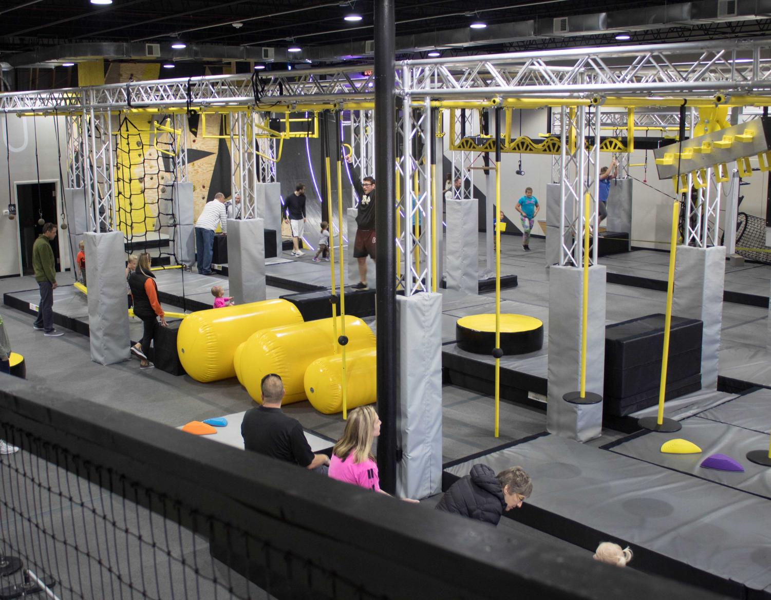Ninja U looks to bring a new style of fitness to the Cedar Valley.