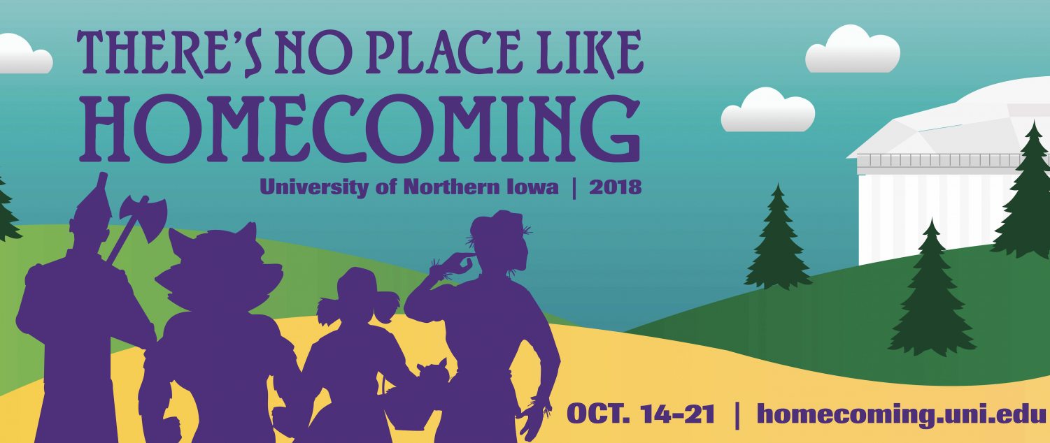 Students can participate in a wide variety of events scheduled for homecoming week until Sunday, Oct. 21.