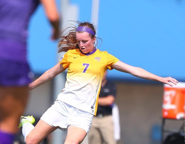 UNI+%285-5-2%29+scored+the+most+goals+in+program+history+during+their+10-0+shutout+of+the+Viterbo+Hawks+on+Monday.