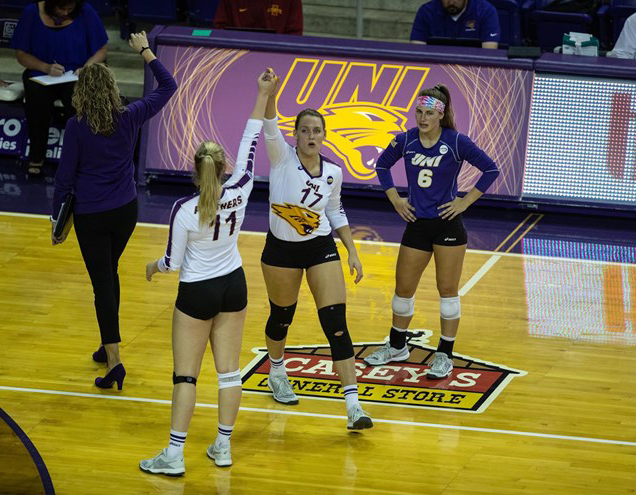 With eight conference matches to go in the season, the Panthers (16-6 overall) lead the Missouri Valley Conference (MVC) with a 10-0 record in MVC play.
