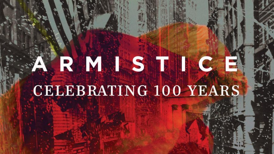 The+School+of+Music+will+commemorate+the+100th+anniversary+of+the+end+of+World+War+1+with+%22ARMISTICE%2C%22+featuring+the+Glee+Club+and+Wind+Ensemble.