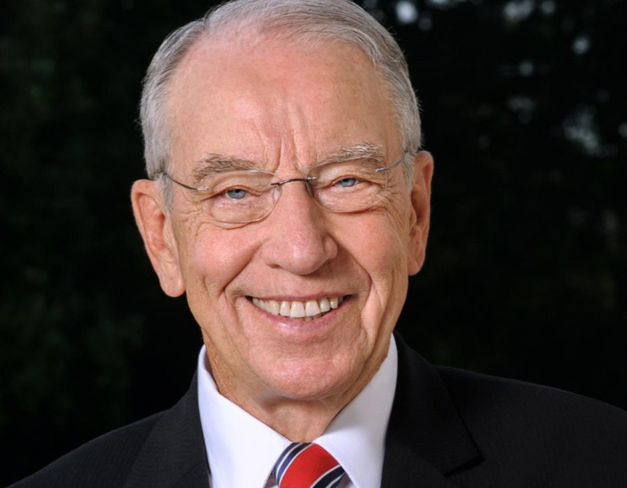 Grassley to become President Pro Tempore