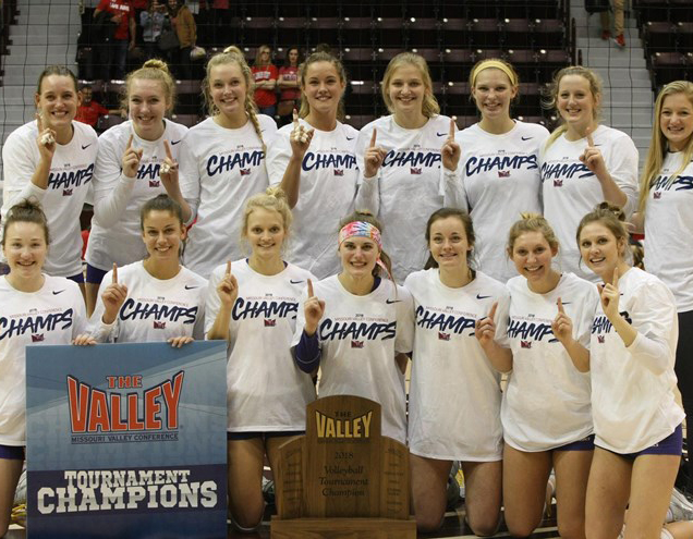 The+Panther+Volleyball+team+won+their+first+MVC+Tournament+Championship+since+2011+and+will+head+to+the+NCAA+Tournament+for+the+fourth+year+in+a+row.
