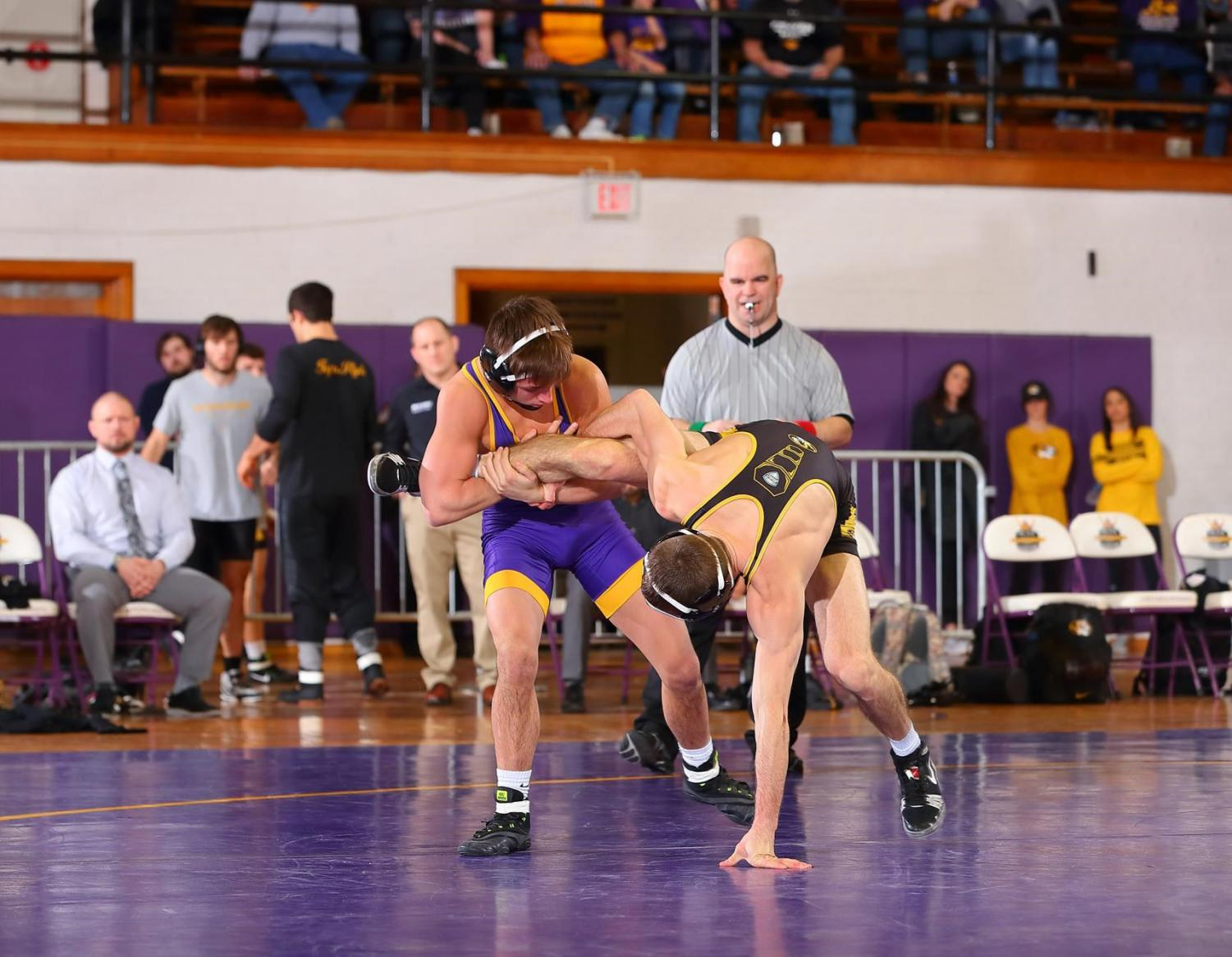 The Panthers will compete in their first dual meet of the season on Nov. 17 at the University of Pittsburgh. UNI compiled a 6-5 overall record and 3-2 record in dual meets in their first season as an associate member of the Big 12 Conference.