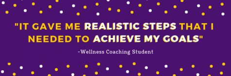 Student Wellness Services offers wellness coaching