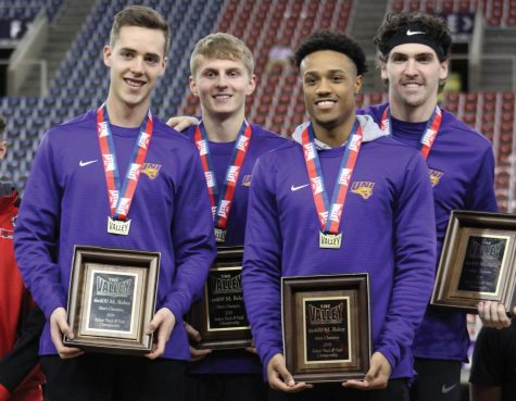 UNI hosts MVC track, places second and fourth
