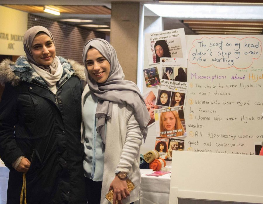 The+UNI+Muslim+Students+Association+celebrated+World+Hijab+Day+on+Monday%2C+Feb.+26+in+Maucker+Union.