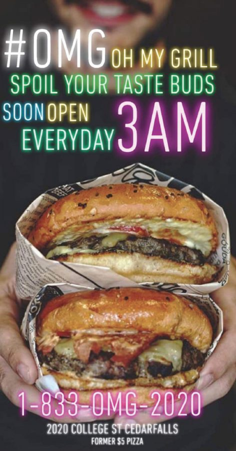 A+new+burger+joint+called+%E2%80%9COh+My+Grill%E2%80%9D+will+be+opening+in+April+on+College+Hill%2C+in+the+former+location+of+Nick%E2%80%99s+Pizza.
