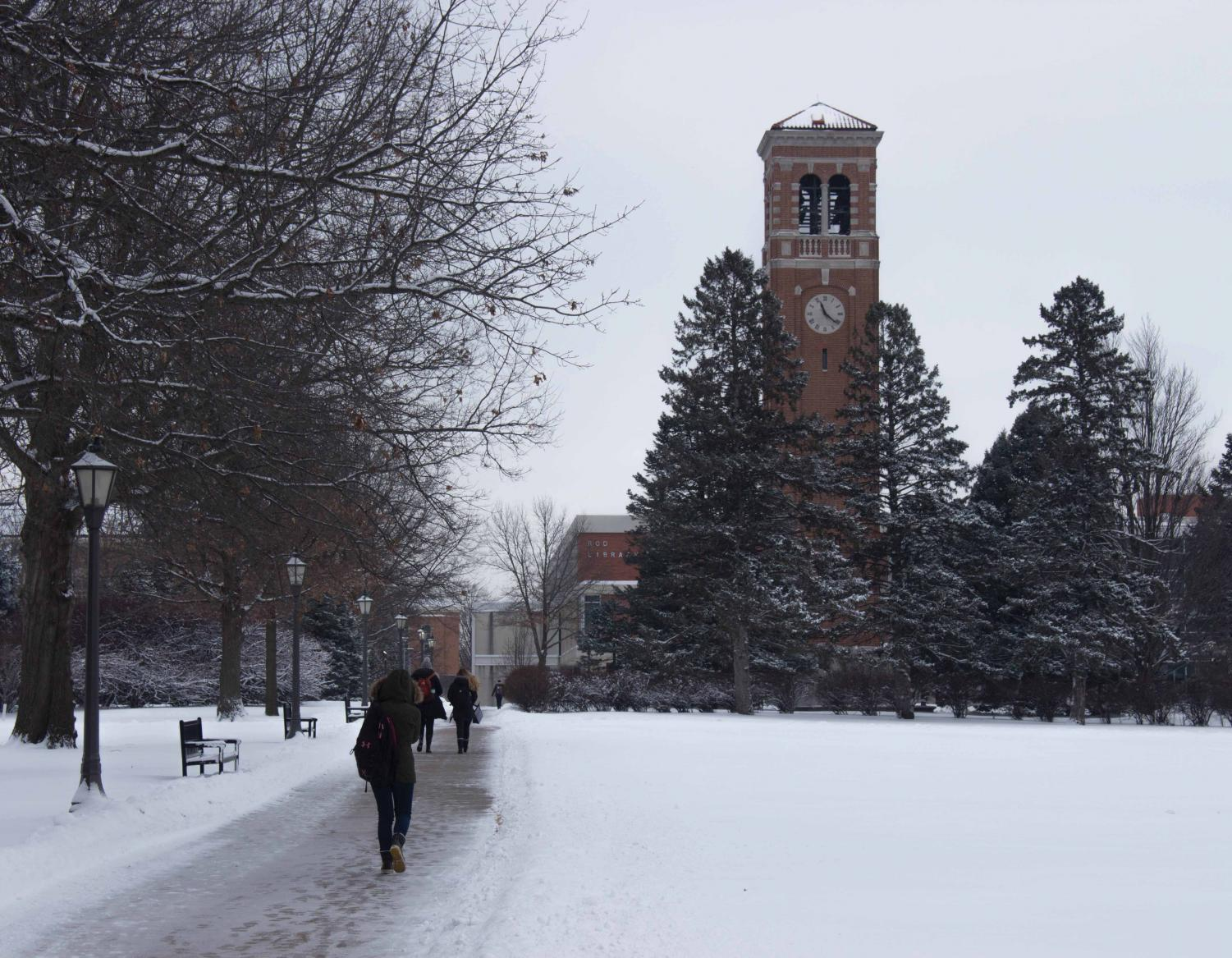 Political communication major Hannah Gregor pens a Letter to the Editor discussing the University's weather cancelation policy and the potential impact it might have on lower-income students and students with disabilities.