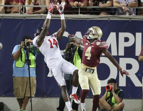 D.K. Metcalf shows athleticism
