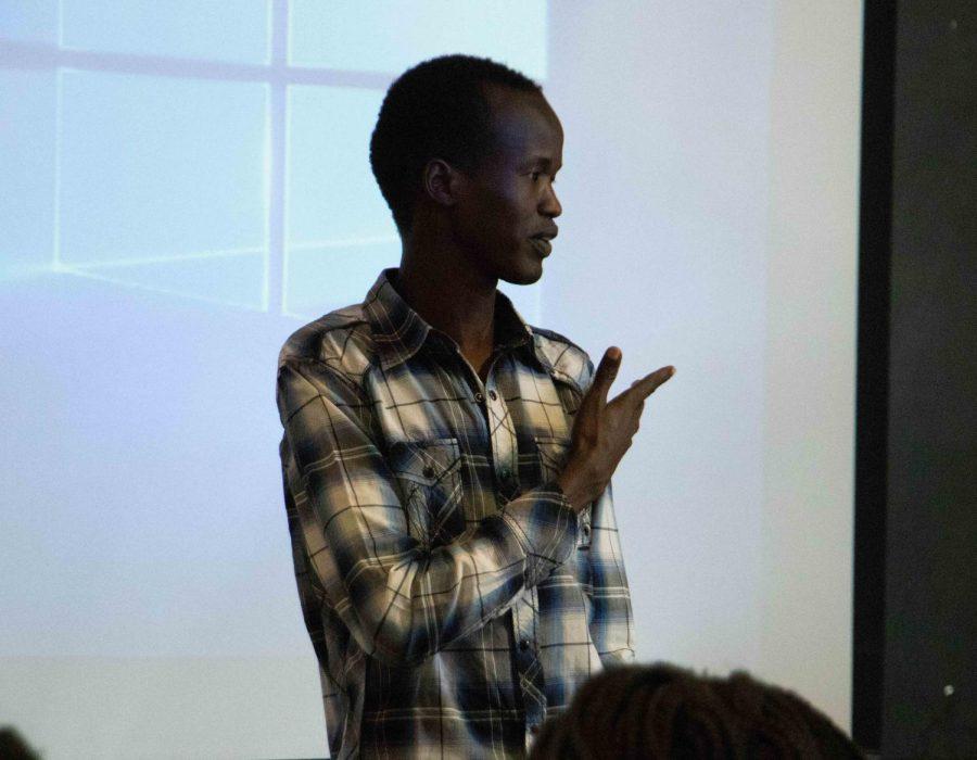 UNI student recounts fleeing civil war