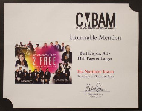 NI wins CMBAM award