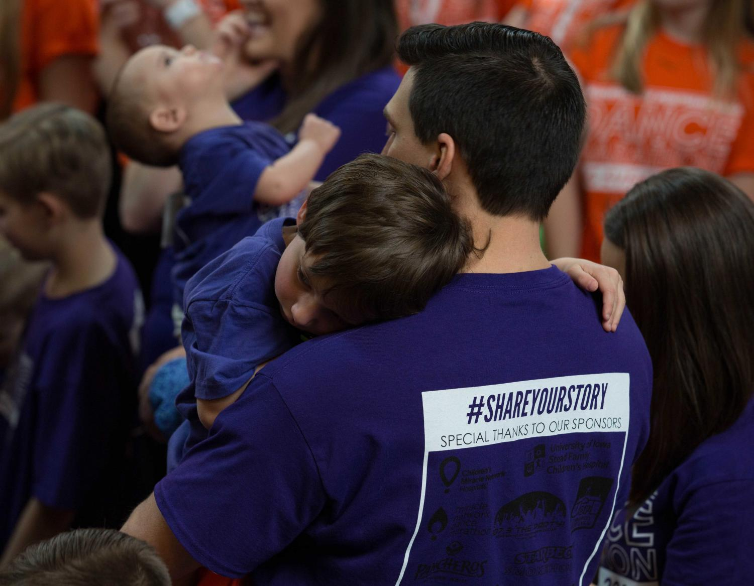 The UNI Dance Marathon, held March 2, surpassed its goal of $620,000 by a margin of over $60,000.