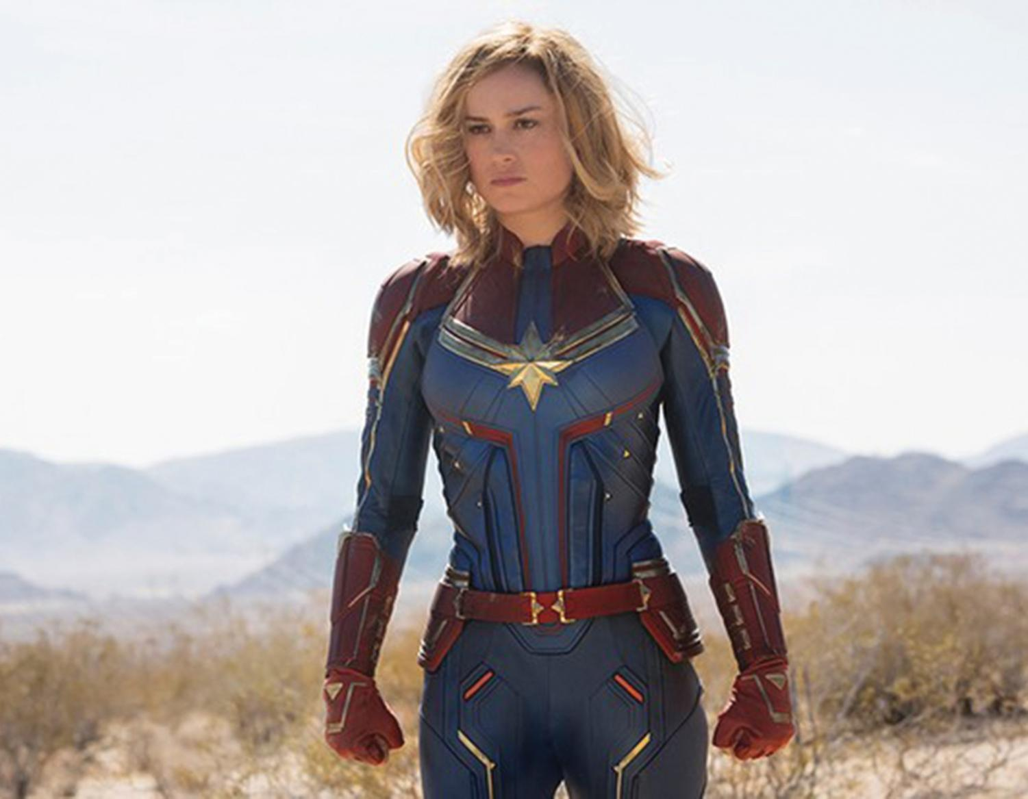 "Brie Larson stars as 'Captain Marvel"" in the 21st installment in the Marvel Cinematic Universe. Directed by filmmaking duo Anna Boden and Ryan Fleck, the film received a 79 percent Rotten Tomatoes rating."