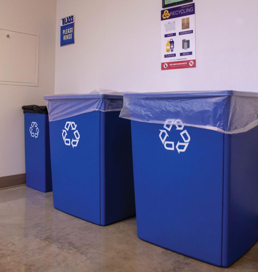 Recycling changes coming to campus