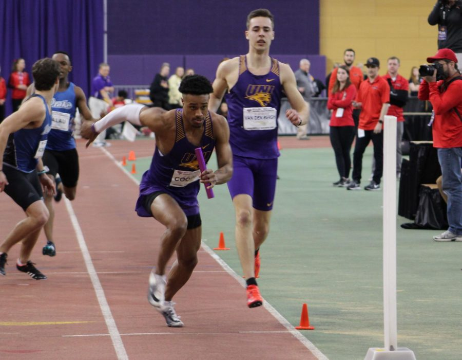 UNI+competes+at+Drake+Relays%2C+Heitland+third