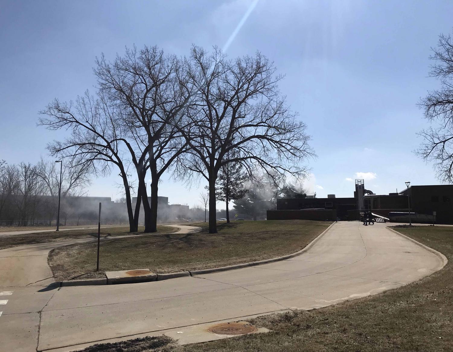 On Tuesday, April 3, at around 3 p.m., a kiln fire started in the Industrial Technology Center. The building did not suffer any serious damages and there were no injuries.