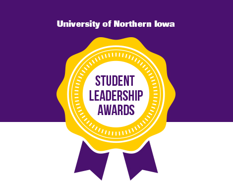 UNI Student Leadership Awards list