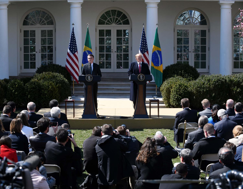 Opinion Columnist Mohammed Rawwas discusses the meeting between President Trump and Brazilian President Jair Bolsonaro.