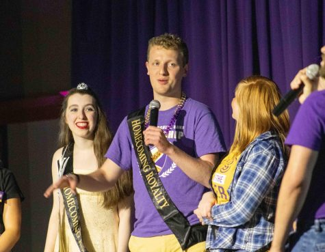 Students compete for the crown