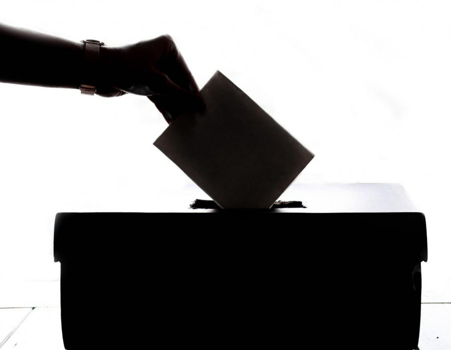 Professor+Emeritus+Steve+Corbin+explains+the+importance+of+female+voters+in+the+2020+election.