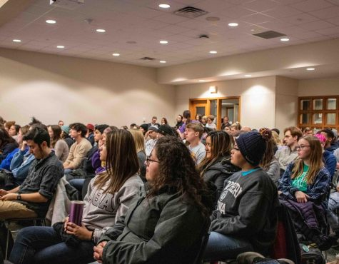 UNI community packs REC town hall