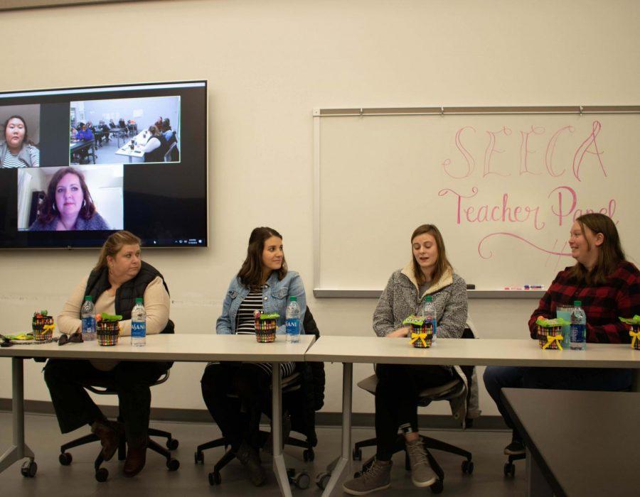 Teachers offer advice at SEECA panel