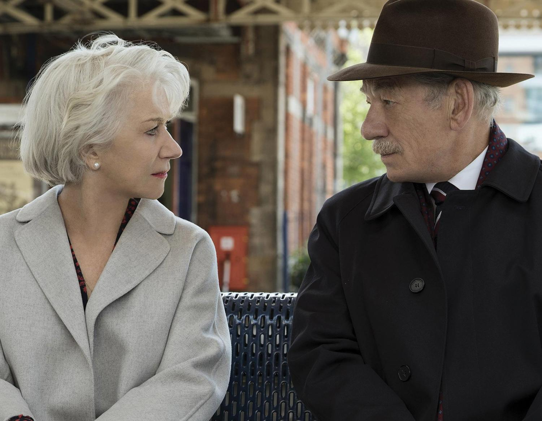 Helen Mirren and Ian McKellen star in the Bill Condon-directed thriller