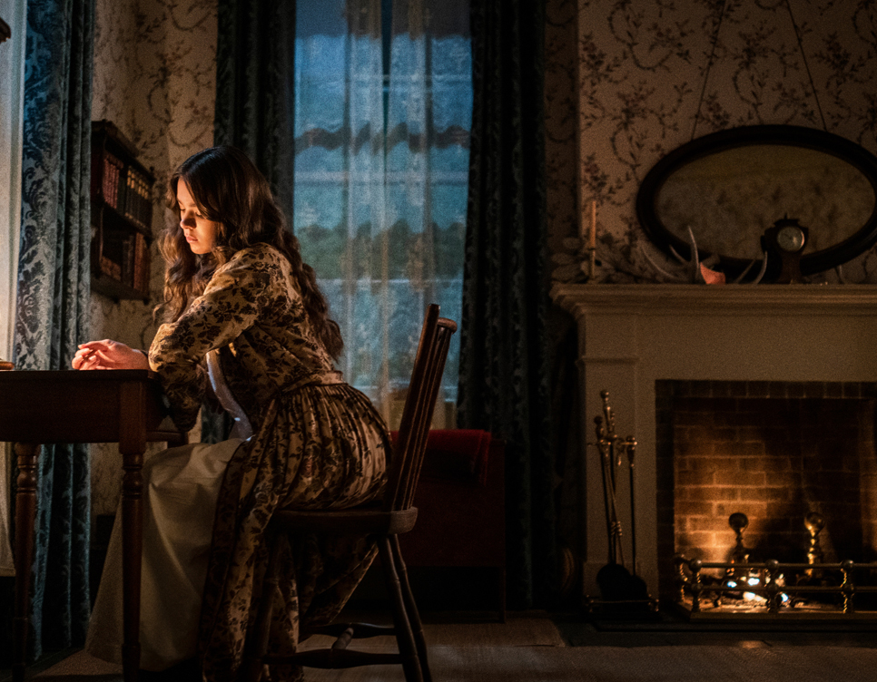 """Opinion Columnist Taylor Lien reviews """"Dickinson"""" on AppleTV+. The series revolves around poet Emily Dickinson, played by Hailee Steinfeld. According to Lien, this portrayal gives life to the poet, who is historically seen as an """"unmarried recluse."""" """"Dickinson received an 88 percent rating on Rotten Tomatoes at launch."""
