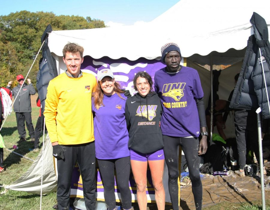 Third and sixth place finishes for UNI Cross Country