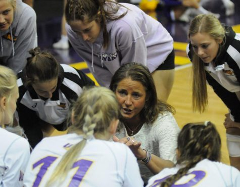 Petersen leads in all-time volleyball wins