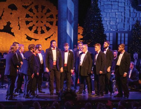 "Cecilia Mitchell reviews ""SingPins A Capella,"" the first release from UNI's auditioned a capella ensemble."