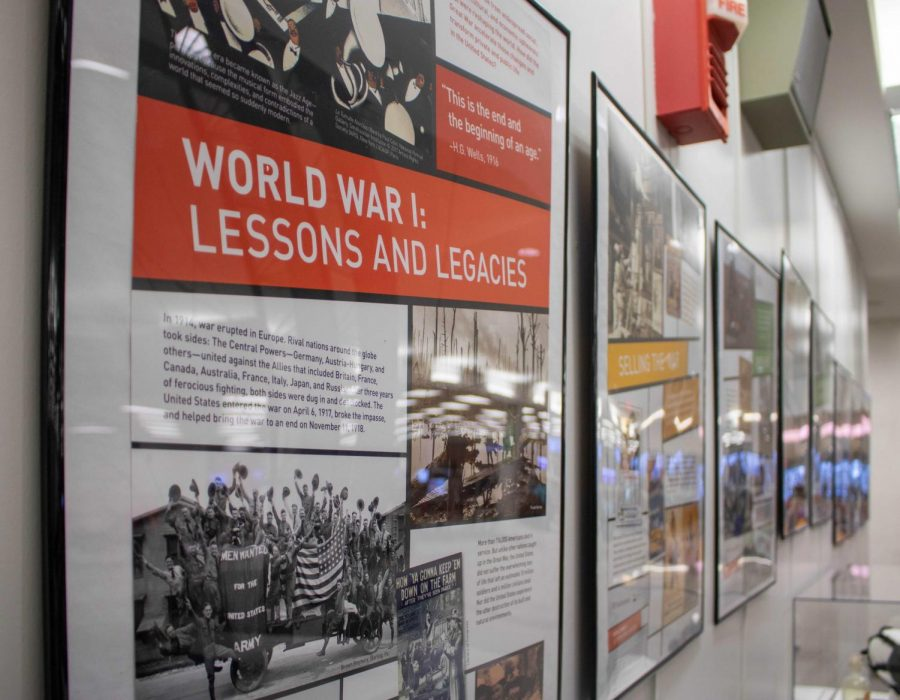 Library exhibit explores WWI impact