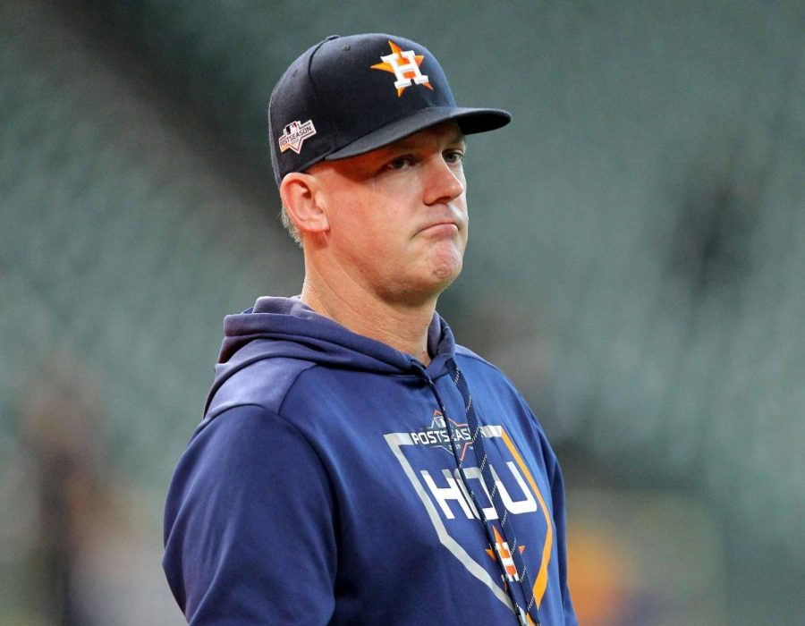 Former Houston Astros manager A.J. Hinch.