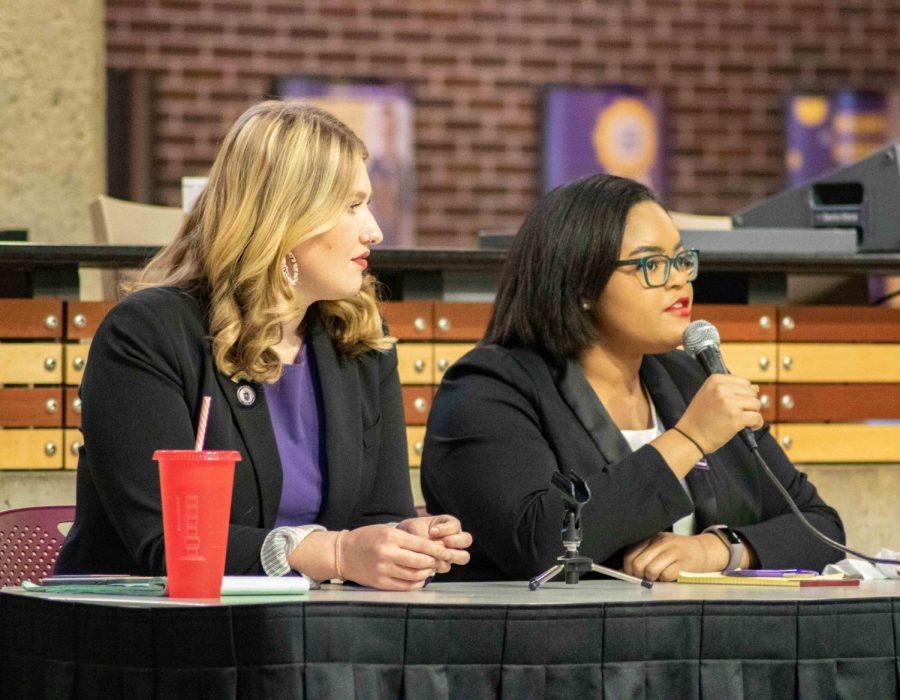 NISG debate: Elle, Rachel talk platform