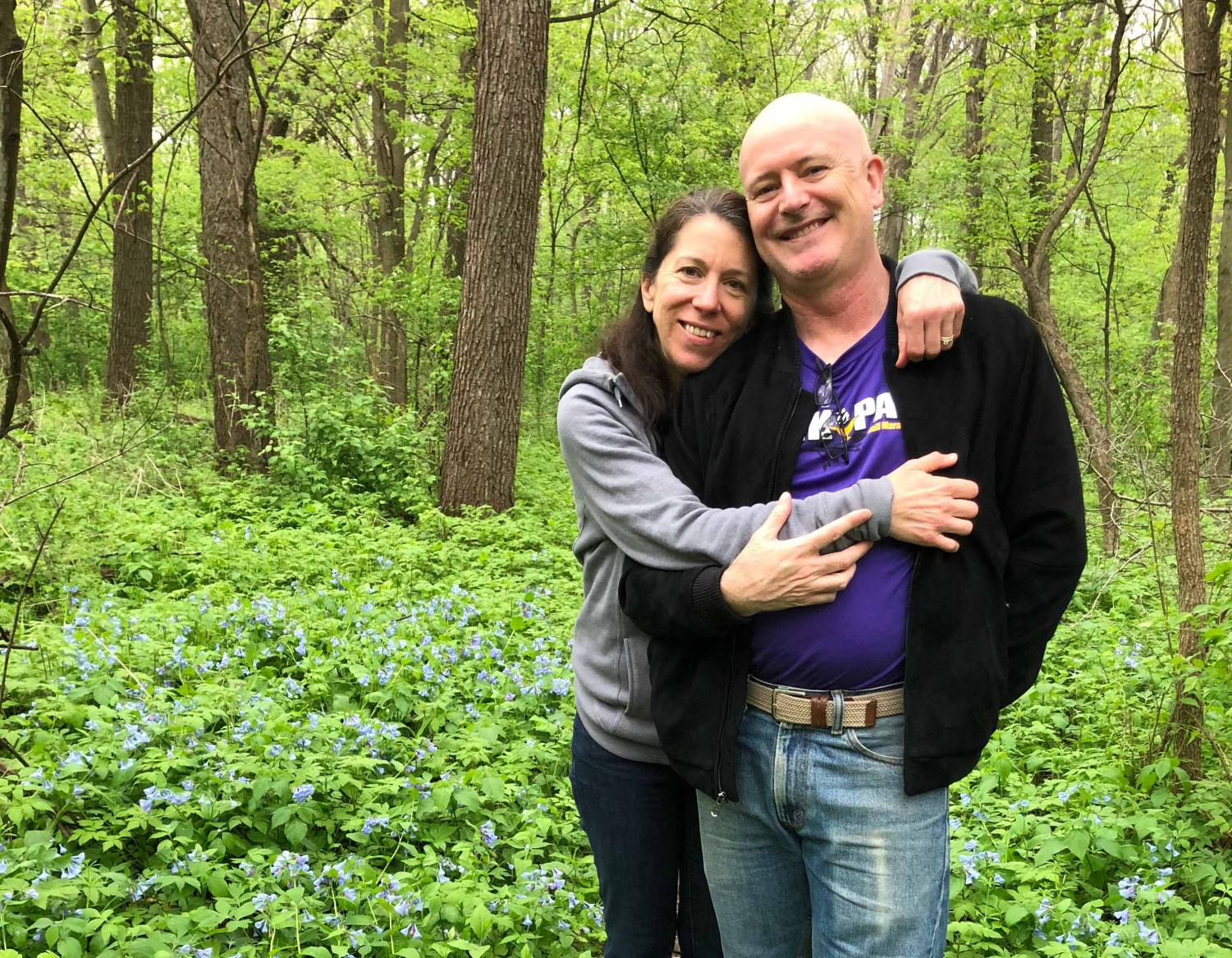 Husband-and-wife duo Jim O'Loughlin and Julie Husband have both been teaching at UNI since 2000. In honor of Valentine's Day, the couple shared their story with staff writer Sofia Legaspi.