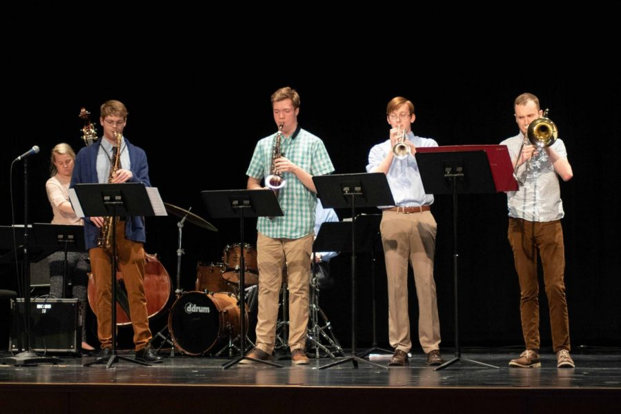 Jazz combos present spring concert