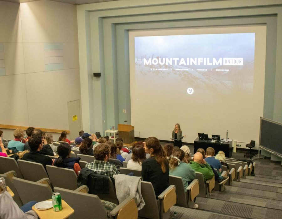 UNI's Film Appreciation Club, Philosophy Club and Green Project cohosted the second annual Mountainfilm on Tour event on Friday, March 6 in the Kamerick Art Building.