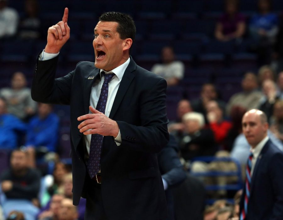 UNI head coach Ben Jacobson looks to lead the Panthers through Arch Madness to return to the NCAA Tournament for the first time since 2016.