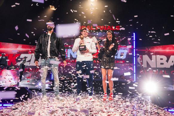UNI student Tyler DeBondt wins 'NBA 2K20' Global Championship