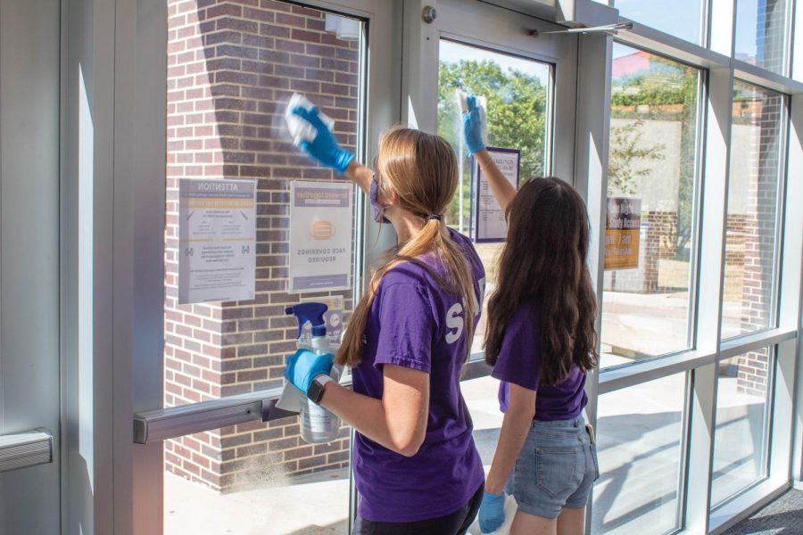 New procedures keep campus clean
