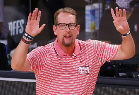UNI graduate and current Toronto Raptors head coach Nick Nurse was named the NBA's Coach of the Year for the 2019-2020 season. Nurse also won an NBA championship with the Raptors in 2019.