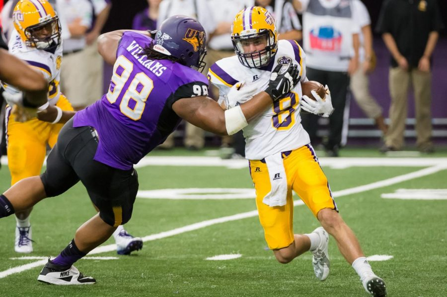 Williams+during+his+time+at+UNI.+He+was+a+two-time+all-conference+selection+and+an+anchor+on+the+Panther+defensive+line+while+donning+the+Purple+and+Gold