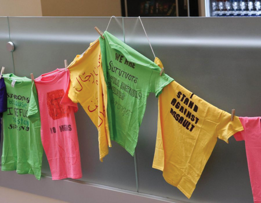 The+annual+Clothesline+Project+will+take+place+virtually+during+the+week+of+Oct.+19.