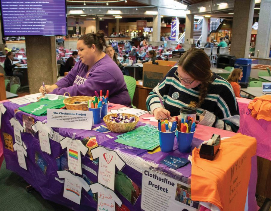 The annual Clothesline Project will take place virtually during the week of Oct. 19.