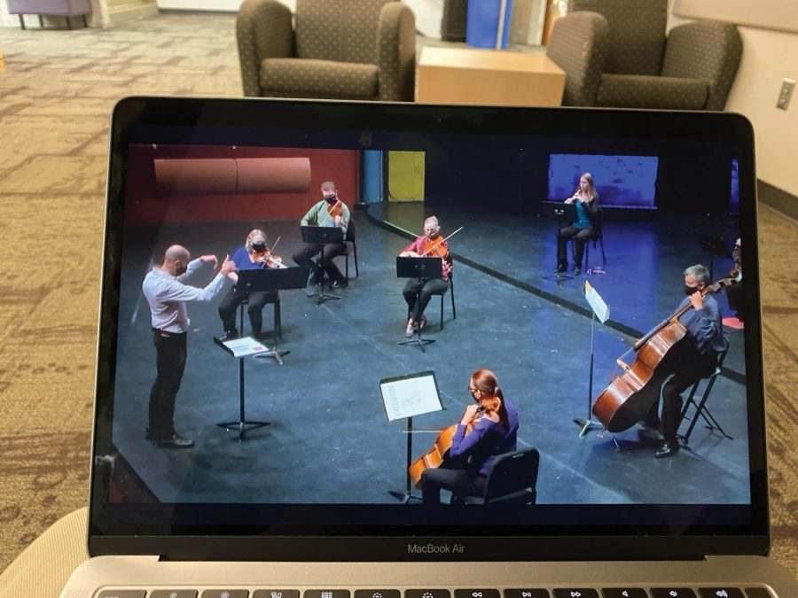 The Waterloo Cedar Falls Symphony held the final virtual concert in their